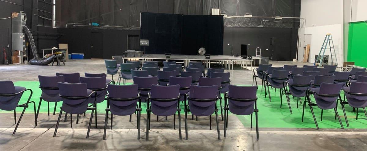Studios Sound Stage and Green Screen in Scottsdale Studios Hero Image in McCormick Ranch Industrial Center, Scottsdale Studios, AZ