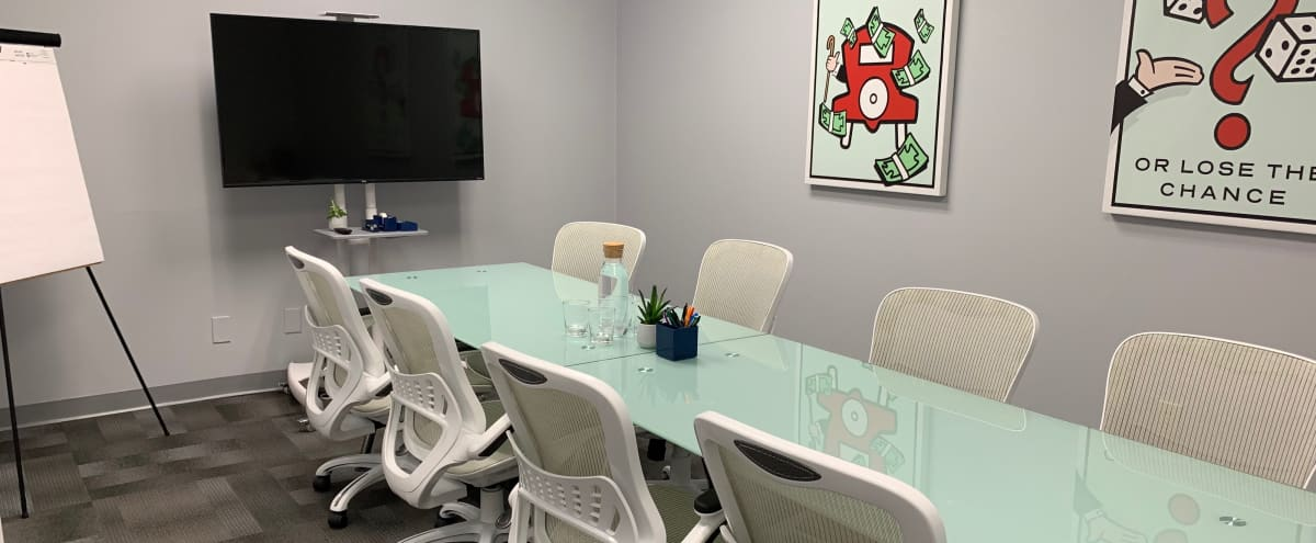 Conference Room with Interactive 13ft Whiteboard Wall! in Norcross Hero Image in Gwinnett Village, Norcross, GA