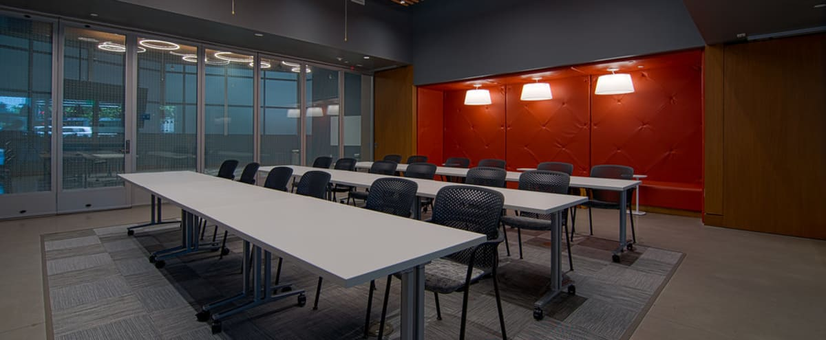 Sleek Conference Room - Tesla in San Diego Hero Image in Marina, San Diego, CA
