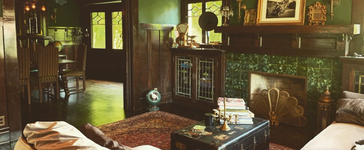 Gorgeous 1909 historic craftsman meets victorian home with enchanting design and antique collection in Mid City/ west adams in los angeles Hero Image in Mid City, los angeles, CA