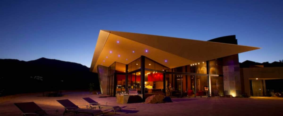 Ultra Modern Architecture Home With Dramatic View in Palm Desert Hero Image in undefined, Palm Desert, CA