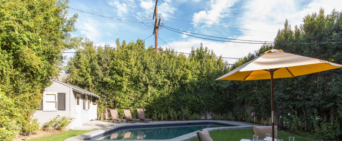 Ultimate LA Home with Beautiful Landscaping & Pool! in Los Angeles Hero Image in Central LA, Los Angeles, CA
