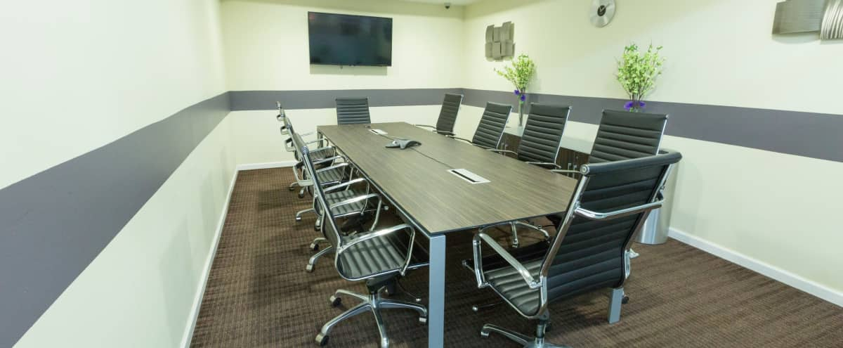 Large Meeting Room A for 12 - Heart of Times Sq. in NEW YORK Hero Image in Midtown, NEW YORK, NY