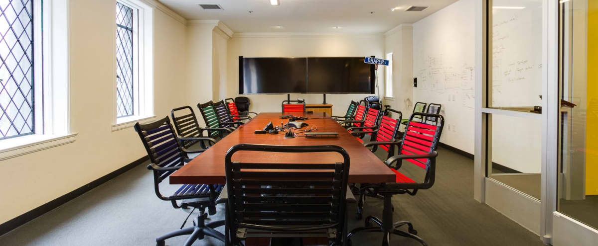 Bright, Modern Conference Room with AV in San Mateo Hero Image in Central San Mateo, San Mateo, CA