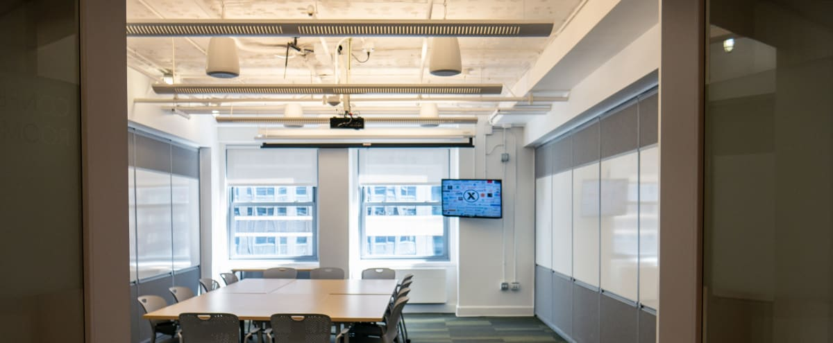 Physically Distanced and Safe! Bright, Modern, Collaborative Workspace in the Heart of the Loop - Great City Views! in Chicago Hero Image in The Loop, Chicago, IL