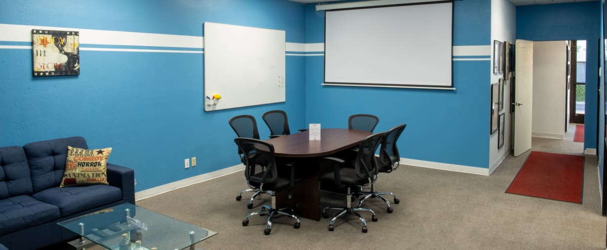 15-20 Guest Meeting Space w/ Projector in Milpitas Hero Image in Berryessa, Milpitas, CA