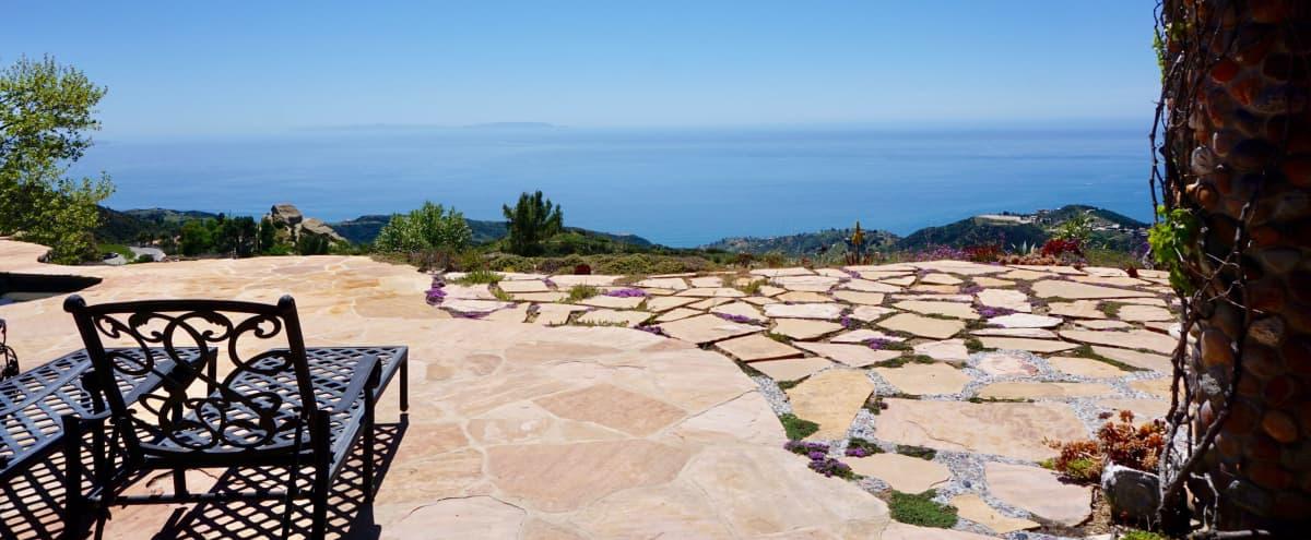 Mountain Top Lodge with Infinity Pool and 360 views in Topanga Hero Image in undefined, Topanga, CA