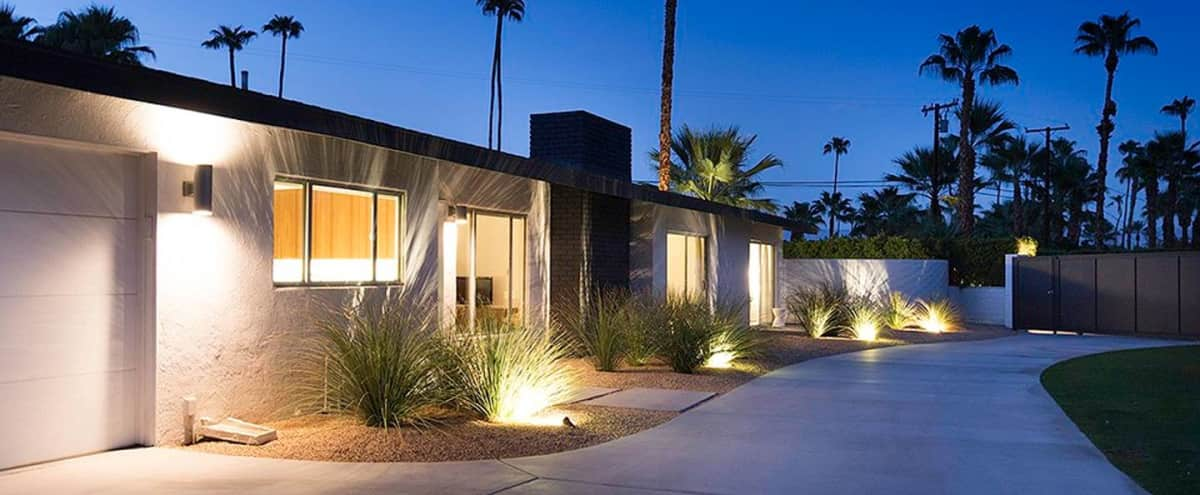 Bond House A Lux, Private, Palm Springs Estate in PALM SPRINGS Hero Image in Taquitz River Estates, PALM SPRINGS, CA