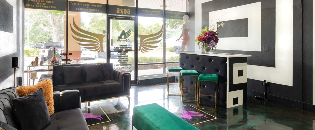 Urban Modern Sleek Boutique with Lounge in St.Petersburg Hero Image in Greater Pinellas Point, St.Petersburg, FL