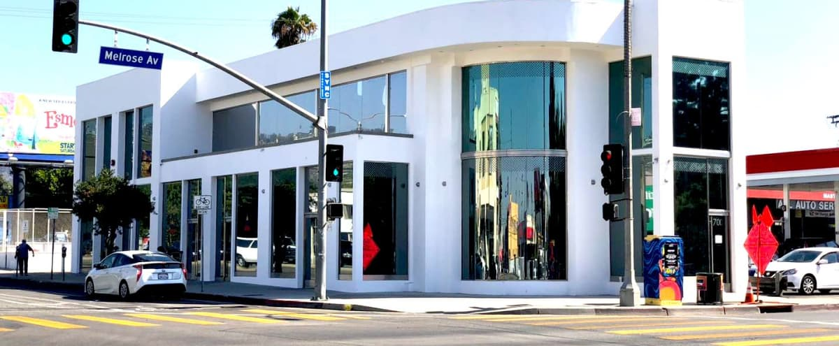 Prime Pop-up/Art Gallery Space in West Hollywood in Los Angeles Hero Image in Melrose, Los Angeles, CA
