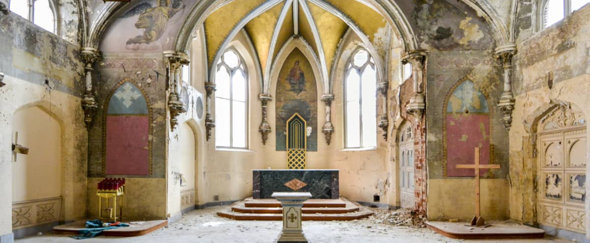 Extraordinary 1800s Chapel in Newark Hero Image in Central Ward, Newark, NJ
