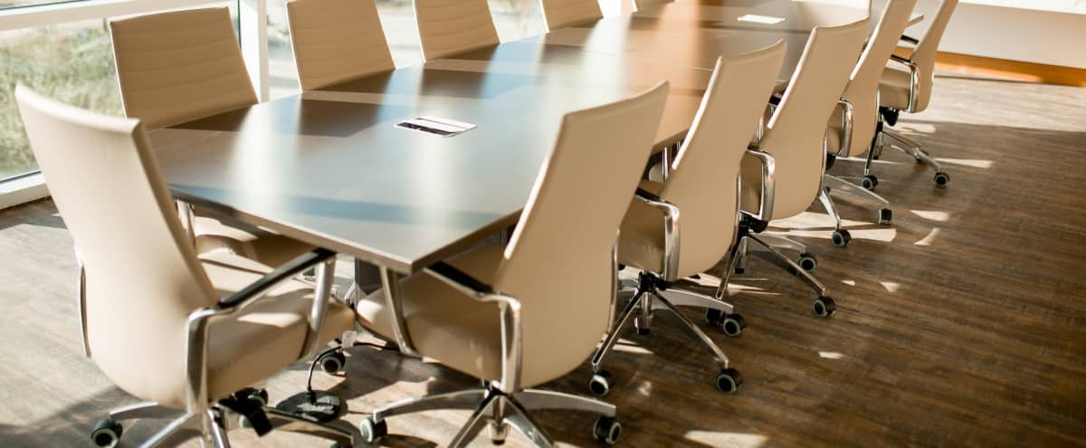 Large Conference Room - Audio & Visual Capabilities in Houston Hero Image in Wortham Grove, Houston, TX