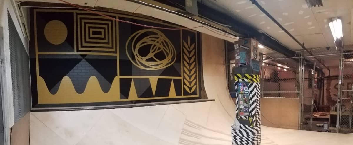 Indoor Skate Ramps + Skate Shop + Gallery Space in Brooklyn Hero Image in Brooklyn, Brooklyn, NY