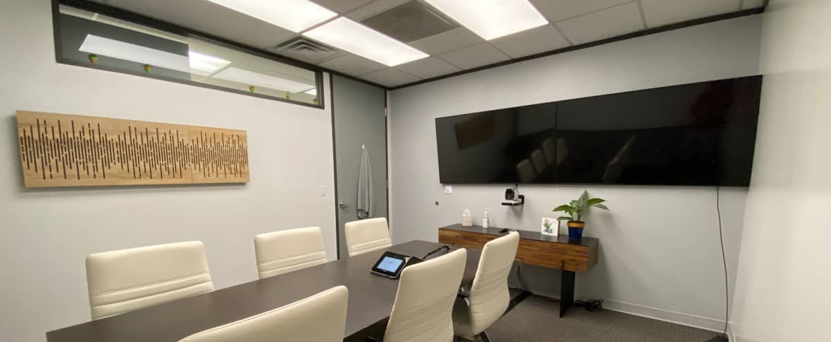 S. Austin Meeting / Zoom Space with Dual Screens and HD Video Camera in AUSTIN Hero Image in Galindo, AUSTIN, TX