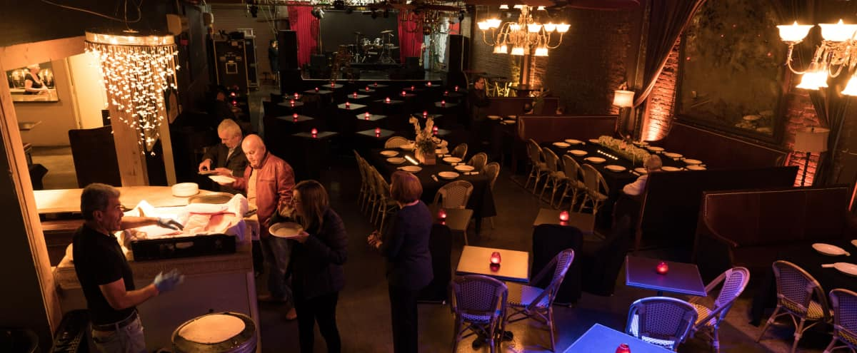 Huge 7,500 sq. ft. versatile DTLA space with stage, bar, restaurant, kitchen, library in Los Angeles Hero Image in Downtown, Los Angeles, CA