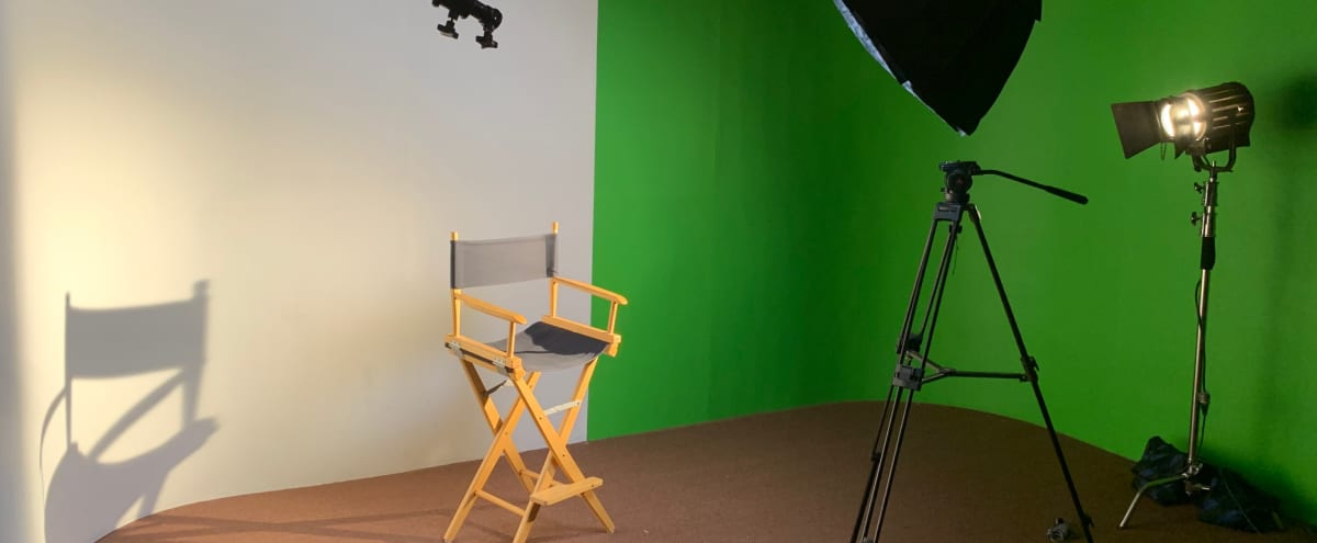 Studio with White and Green Backgrounds in glendora Hero Image in undefined, glendora, CA