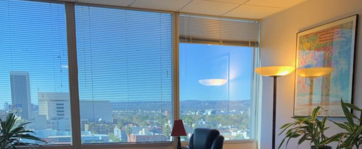 Prime Miracle Mile Office Space with Skyline View of West Hollywood Hills and beyond in Los Angeles Hero Image in Central LA, Los Angeles, CA