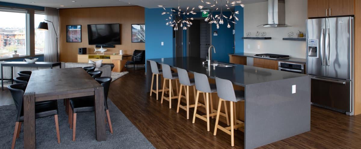 Ballard Skyline Lounge with Mountain Views in Seattle Hero Image in Old Ballard, Seattle, WA