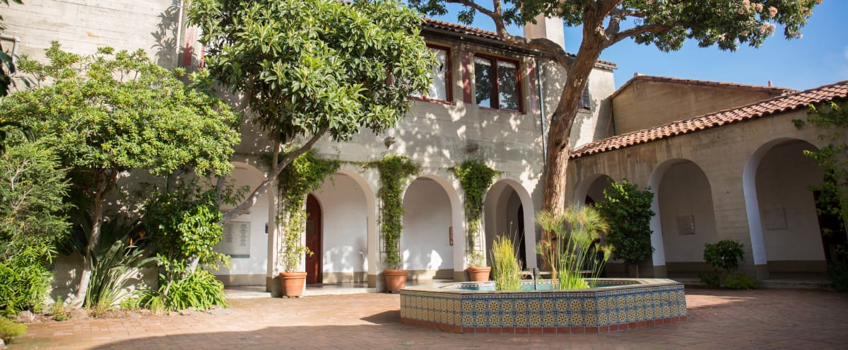 Secluded Spanish Courtyard in Iconic Art School in San Francisco Hero Image in Russian Hill, San Francisco, CA