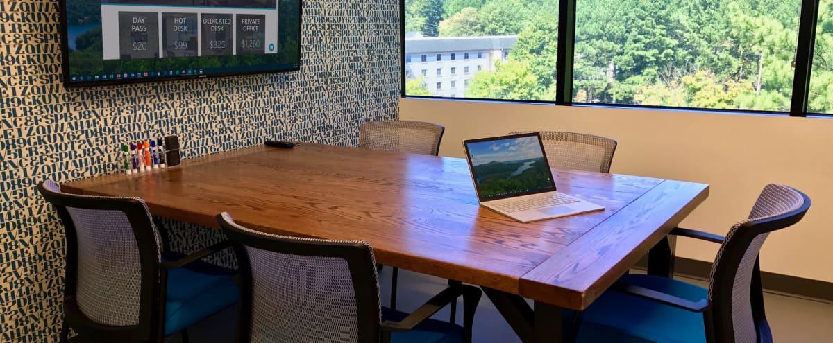 5 Person Meeting Room in Creative Space Located in Dunwoody in Atlanta Hero Image in undefined, Atlanta, GA