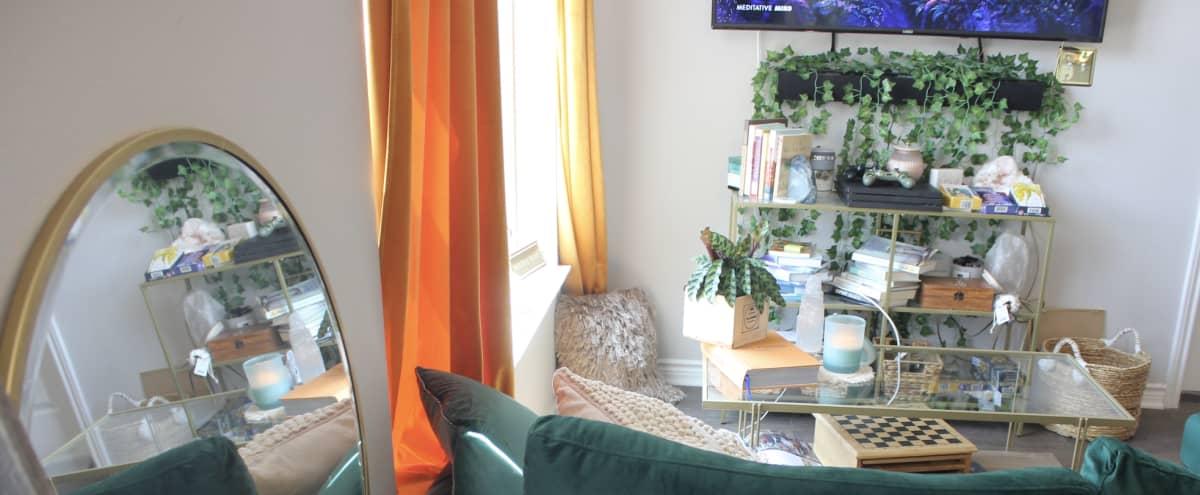Zen Luxury Bohemian Dallas Apartment in Dallas Hero Image in undefined, Dallas, TX