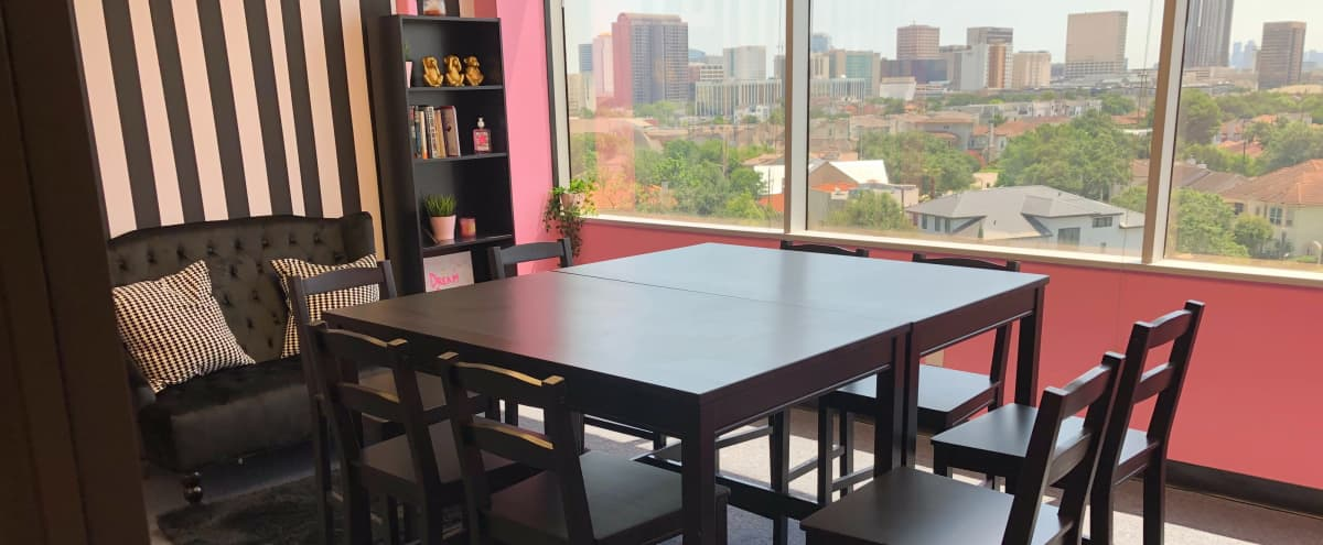 Chic Conference Room in Galleria Area in Houston Hero Image in St. George Place, Houston, TX