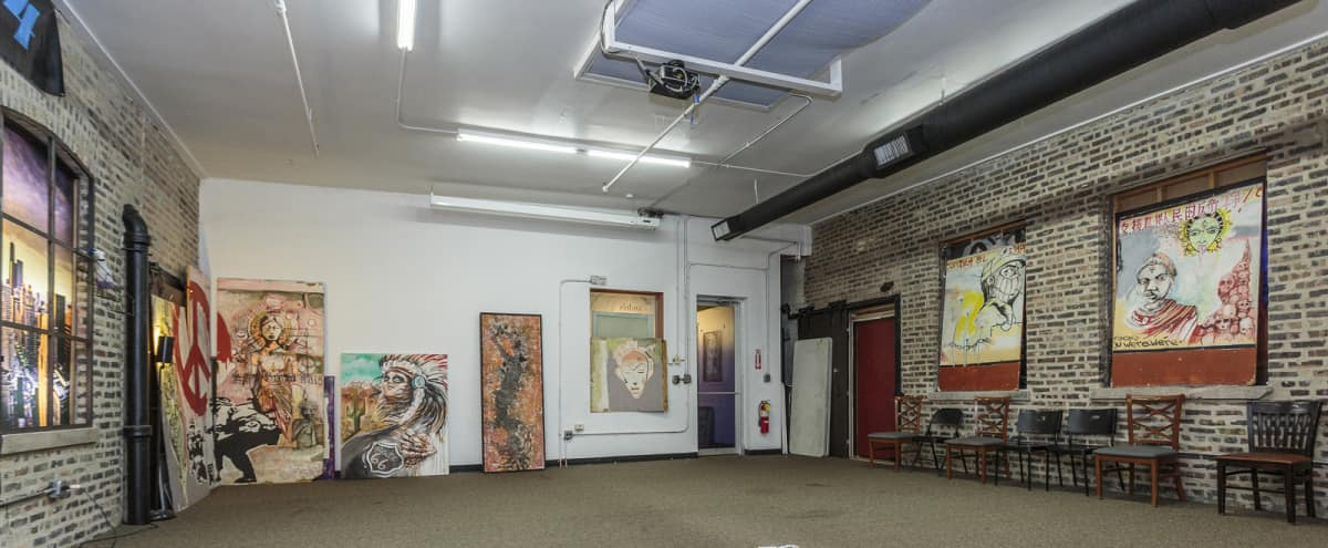 Creative Artist Lounge | Open Space in Chicago Hero Image in West Town, Chicago, IL
