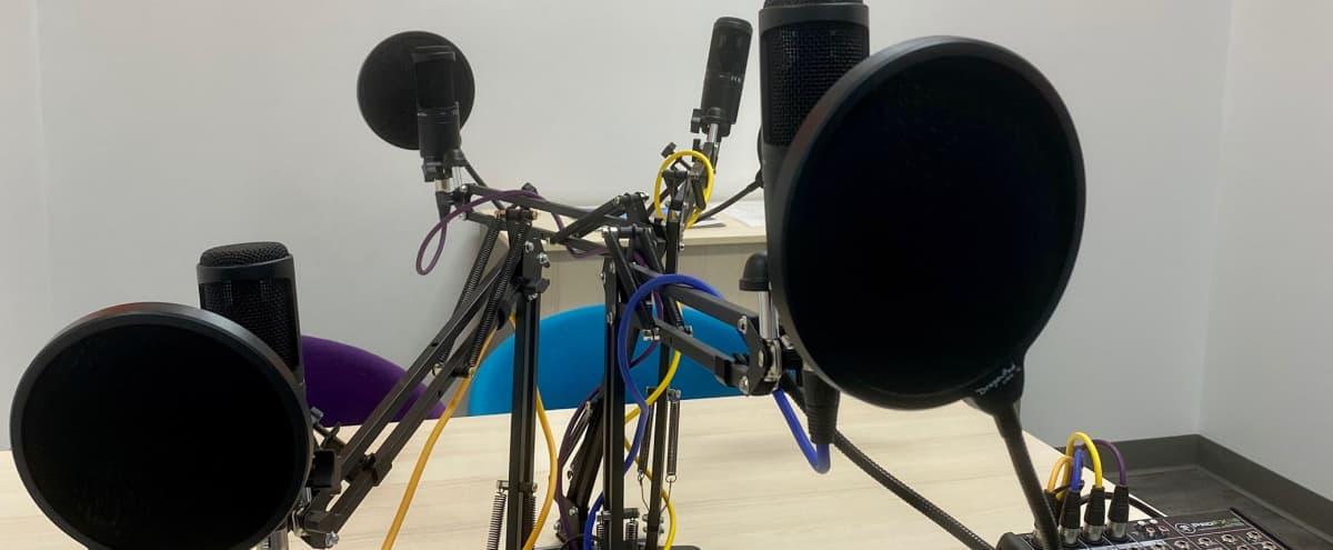 Recording Studio Perfect for Podcasting in Dallas Hero Image in Design District, Dallas, TX
