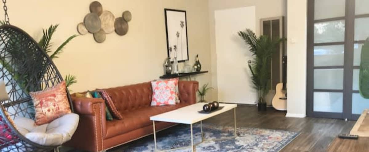 Urban Boho Style studio Apartment Perfect for Photoshoots and Video Shoots in North Hollywood Hero Image in North Hollywood, North Hollywood, CA