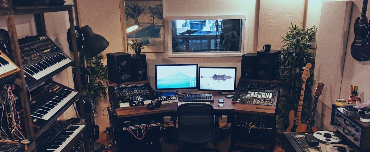 Vintage meets Modern Recording Studio in Brooklyn Hero Image in East Williamsburg, Brooklyn, NY