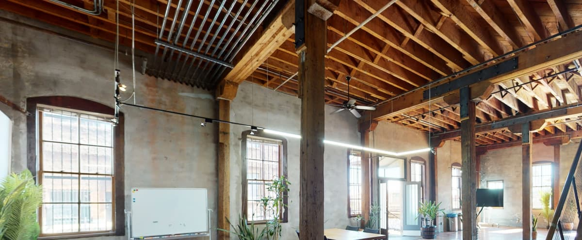 Warehouse space with redwood floors and natural light in Oakland Hero Image in West Oakland, Oakland, CA
