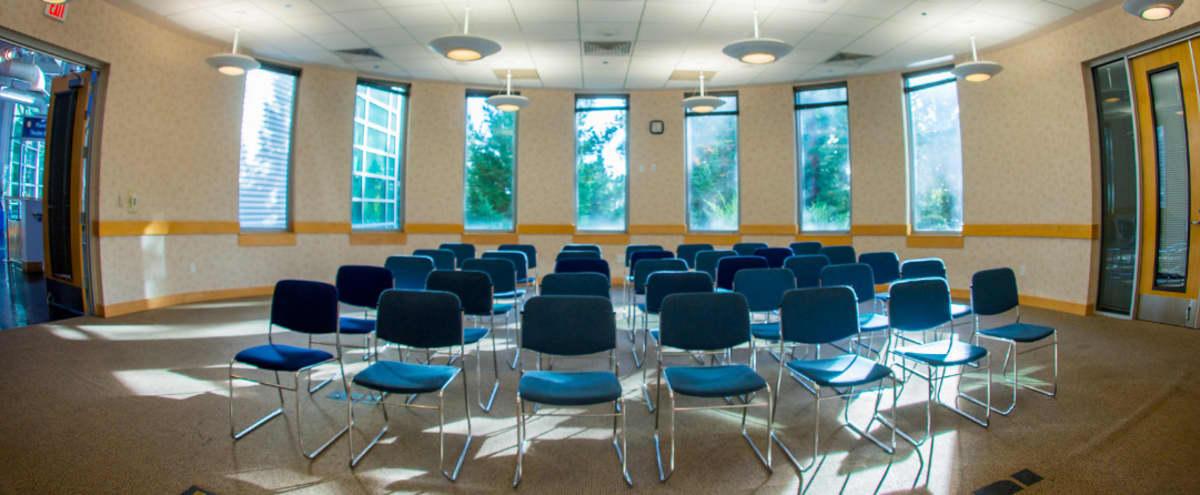 Meeting Room Nestled in Oakland Hills Redwoods in Oakland Hero Image in Joaquin Miller Park, Oakland, CA