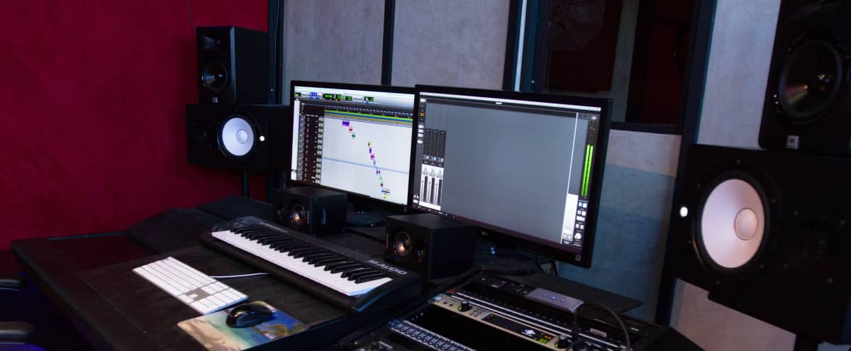 Prime Recording Studio Area in West Hollywood in West Hollywood Hero Image in West Hollywood, West Hollywood, CA