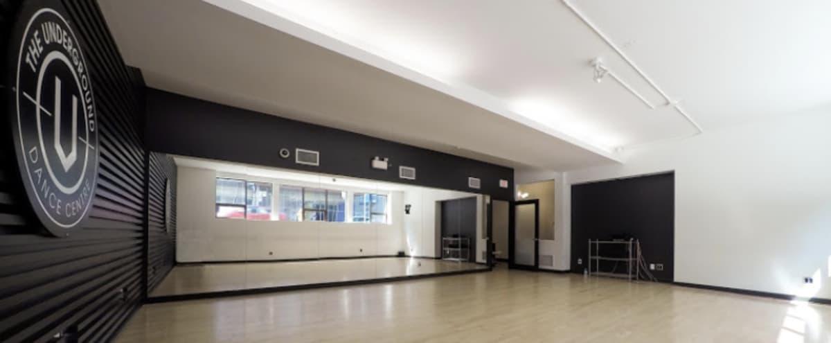 Downtown Toronto Dance Studio - Fitness/Yoga/Dance Photography in Toronto Hero Image in Downtown Toronto, Toronto, ON
