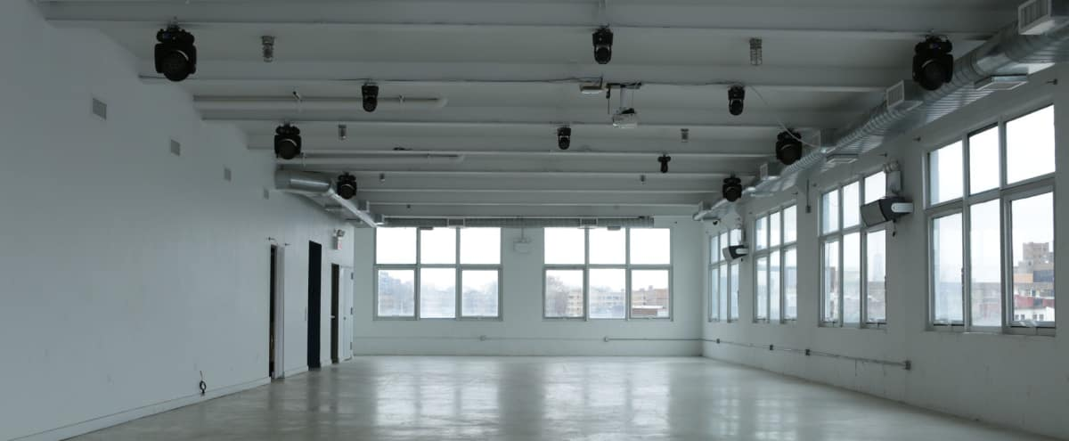 An open style event space in the heart of East Williamsburg. (Multiple Rooftops) in Brooklyn Hero Image in East Williamsburg, Brooklyn, NY