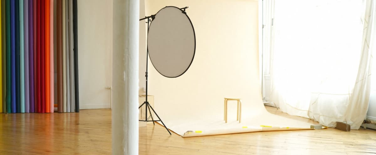 Natural Light Photo Studio in Chicago Hero Image in Wicker Park, Chicago, IL