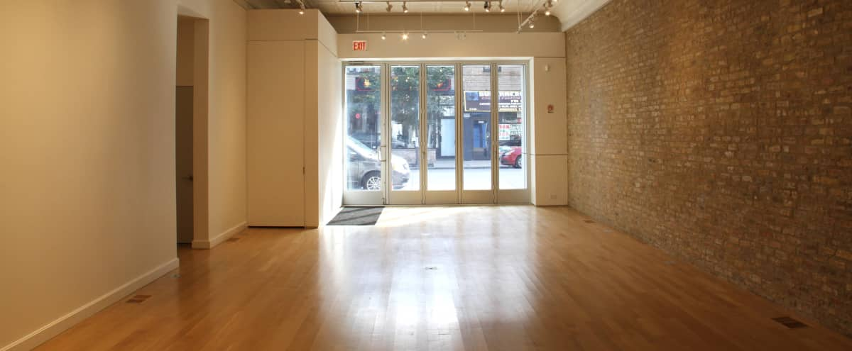Simple and Beautiful Gallery Space in Chicago Hero Image in Logan Square, Chicago, IL