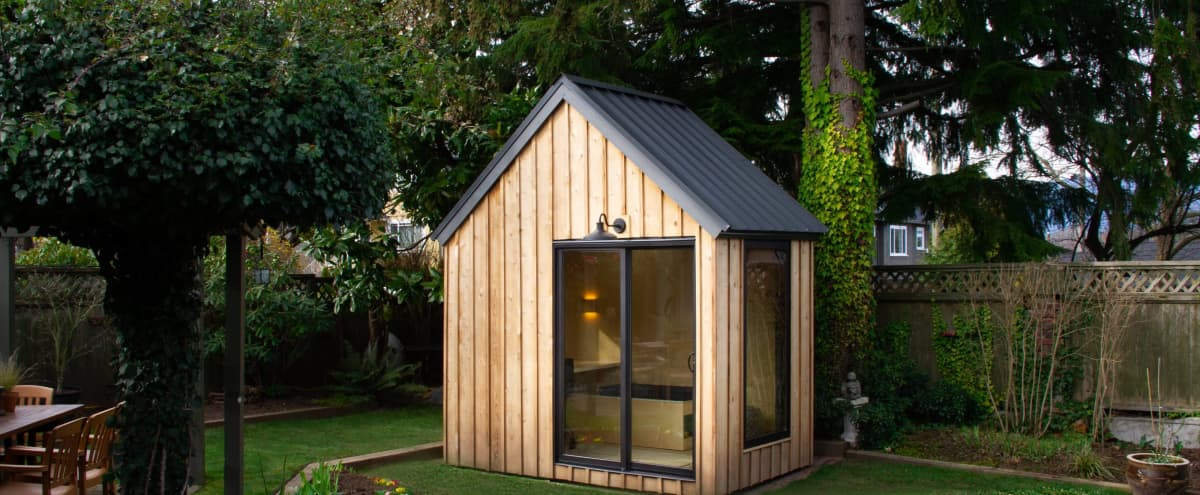The Novella Outdoor Office Studio in Vancouver Hero Image in Dunbar-Southlands, Vancouver, BC