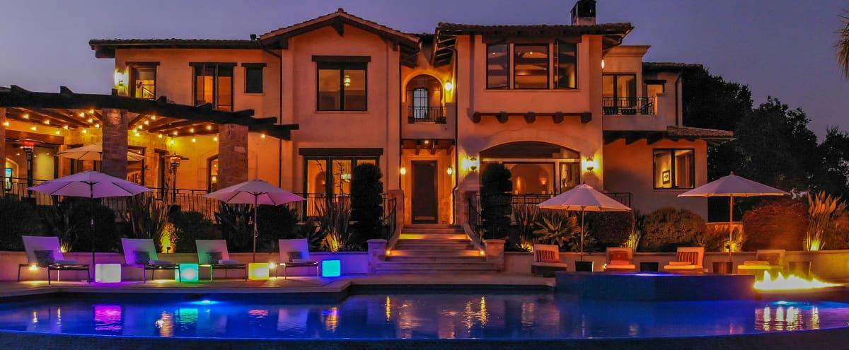 ♛ 5,700 sq. Luxury Villa, Oceanview, Infinity Pool in Soquel Hero Image in undefined, Soquel, CA