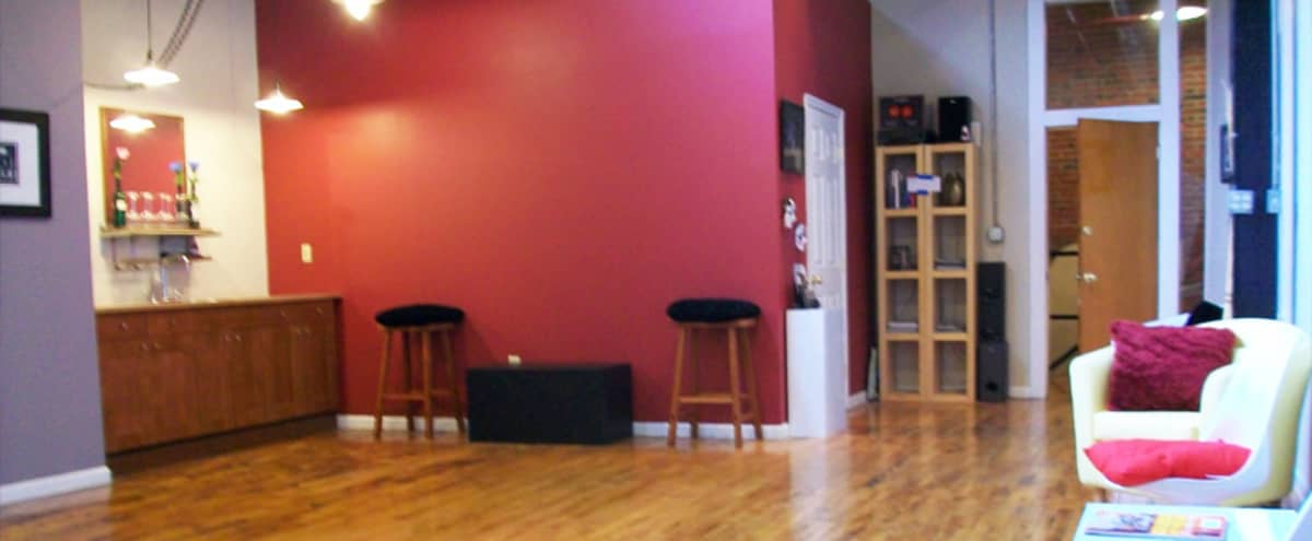 50-Person Event Space on Second Floor In Loft Gallery in Baltimore Hero Image in Highlandtown, Baltimore, MD