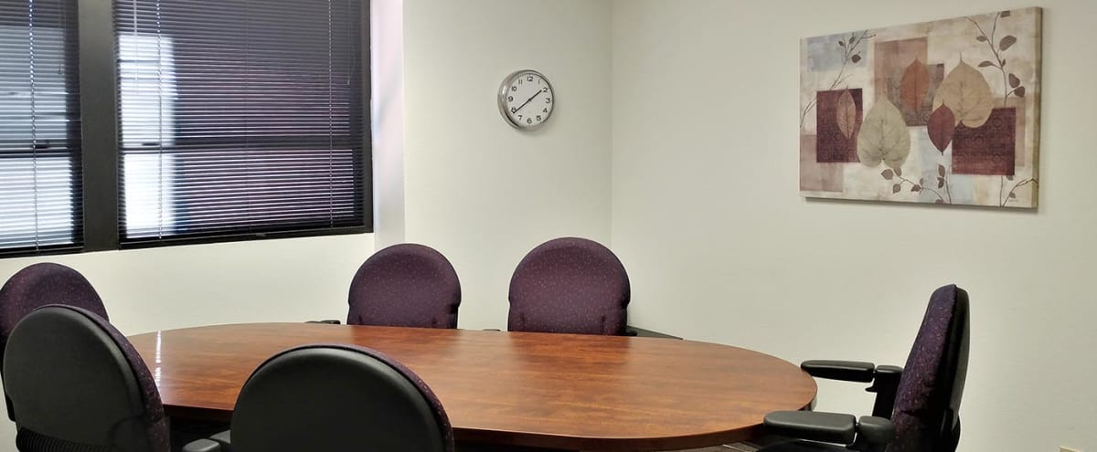 6 Person Conference Room in High-Tech Office Building in Scottsdale Hero Image in South Scottsdale, Scottsdale, AZ