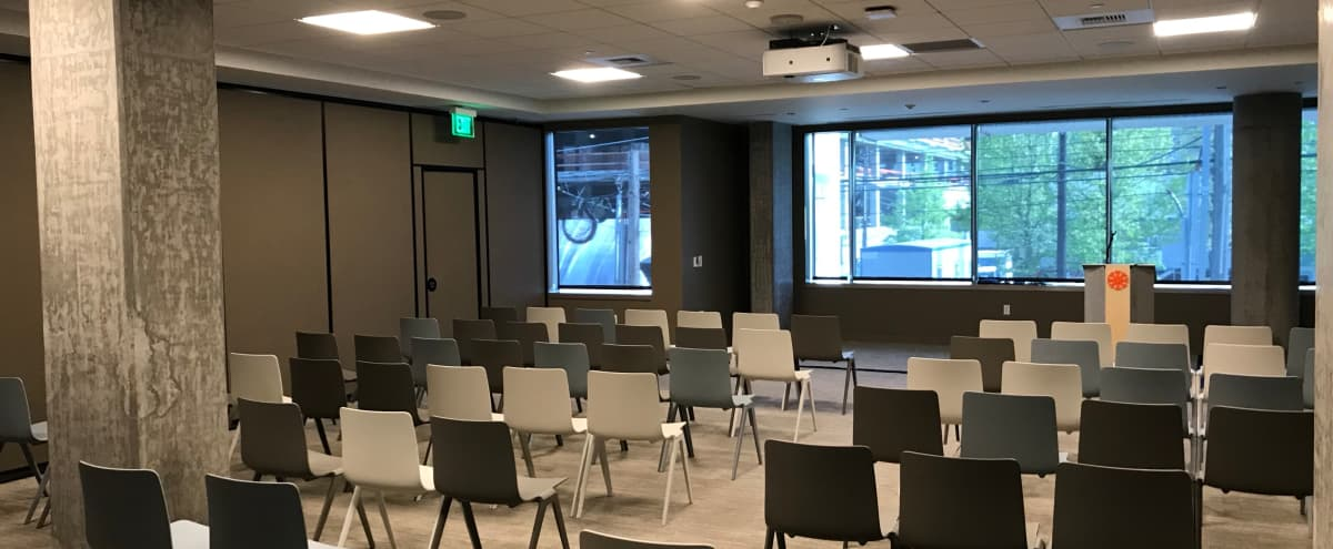 Fully Equipped Meeting, Training, and Workshop Space in South Lake Union in Seattle Hero Image in South Lake Union, Seattle, WA