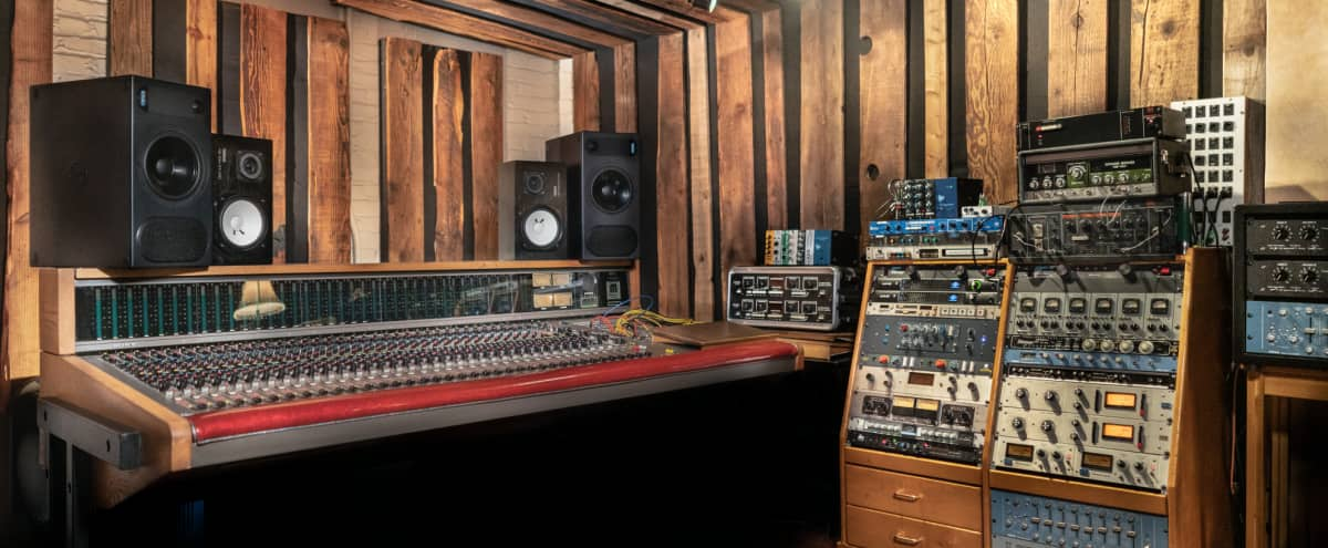 Unique Recording Studio with rooms that resemble homes and roof, Downtown, Los Angeles, in Los Angeles Hero Image in Downtown, Los Angeles, CA