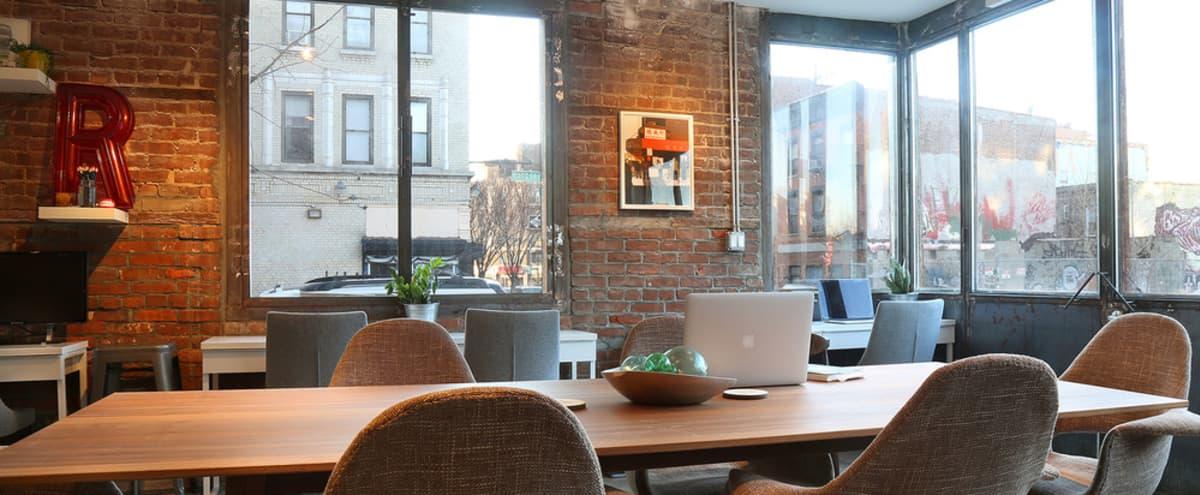 Creative Coworking Studio in a Pre-War Building, Williamsburg, Brooklyn in Brooklyn Hero Image in Williamsburg, Brooklyn, NY