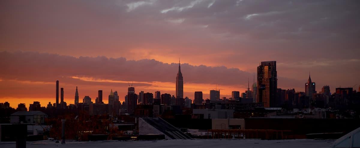 Greenpoint Daylight Studio w/ Rooftop & Skyline Views in BROOKLYN Hero Image in Greenpoint, BROOKLYN, NY