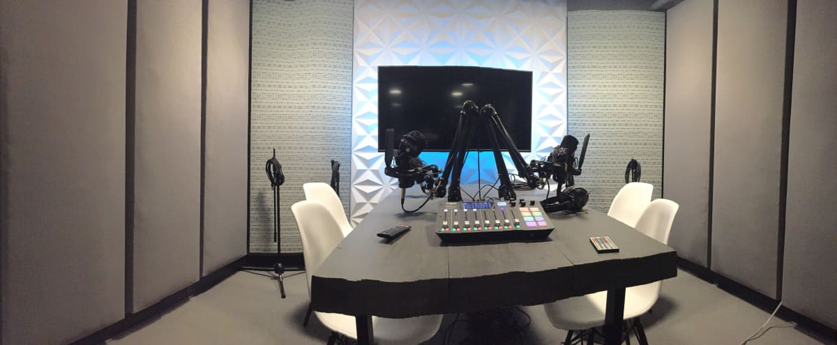 Modern Audio Recording Podcast Room in Vista Hero Image in undefined, Vista, CA