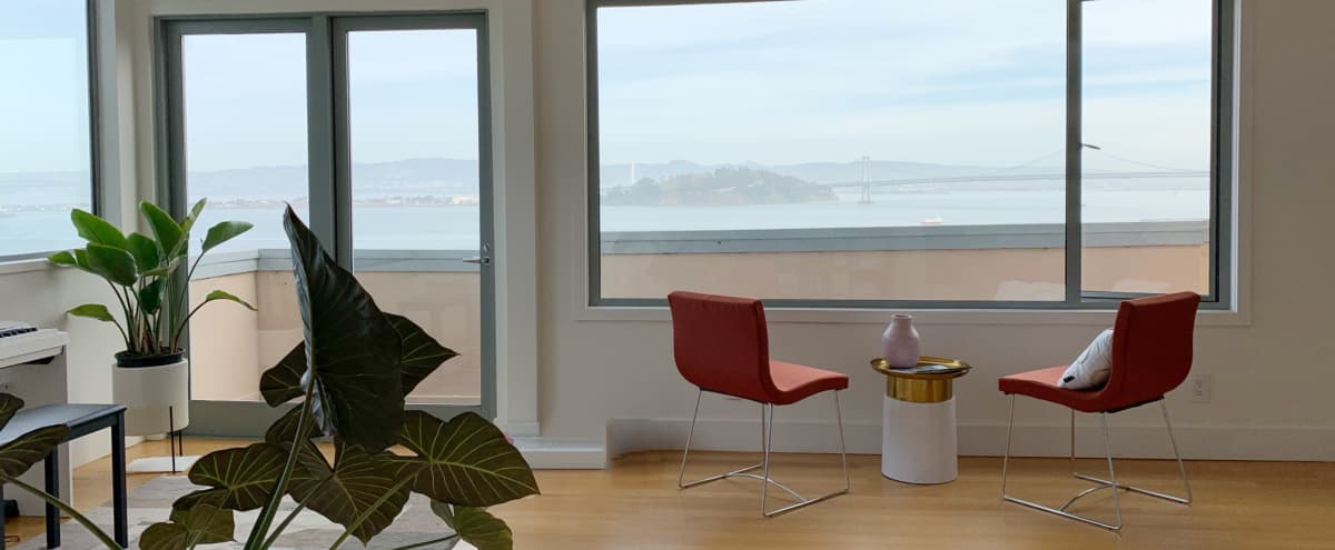 Private, Bright Unit House with 270 degree Bay View in San Francisco Hero Image in Telegraph Hill, San Francisco, CA
