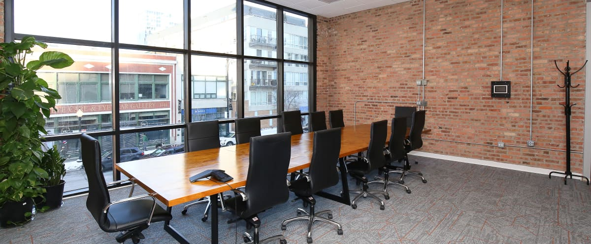 Large Conference Room on Michigan Ave in Chicago Hero Image in Near South Side, Chicago, IL