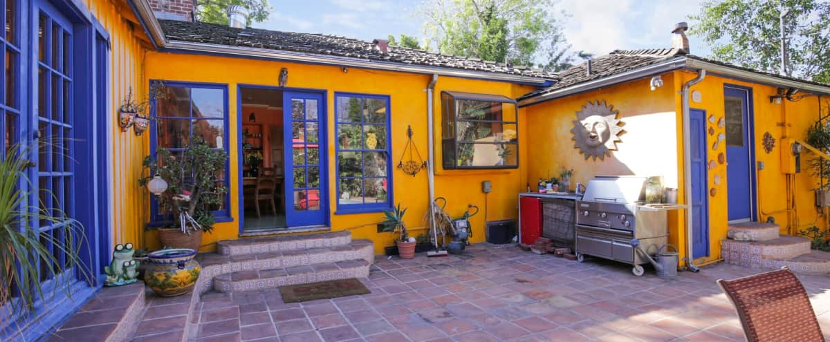 Charming House with a HEATED POOL in a Bright Backyard in Studio City Hero Image in Studio City, Studio City, CA