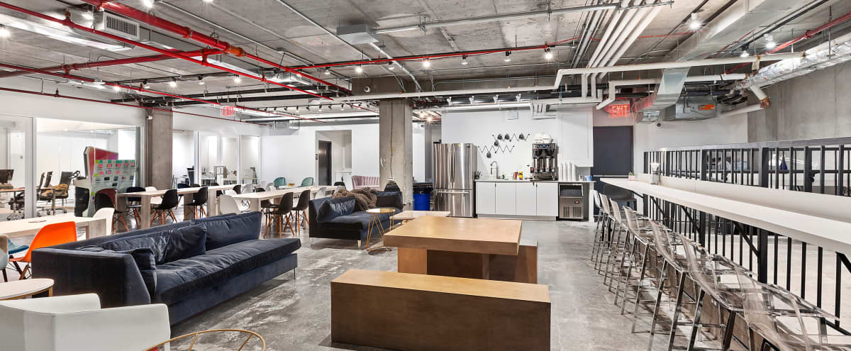 Rustic SoHo Hot Desks in New York Hero Image in SoHo, New York, NY
